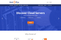 Host1Plus Homepage