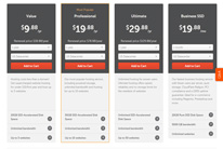 Compare Web Hosting Plans