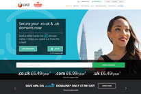 Register a domain at UK2